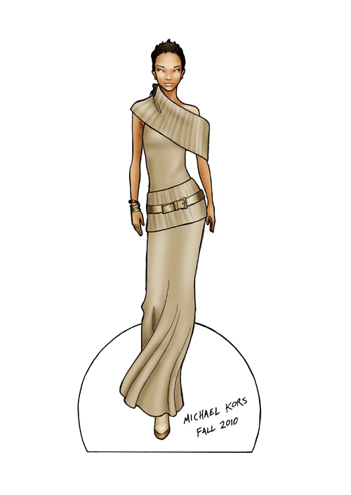 Image from  finalfashion.ca  Michael Kors doll.