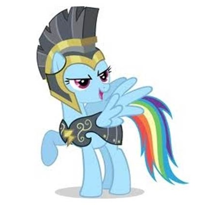 Commander Hurricane The Great. My friend's official avatar at  Bronies Australia .