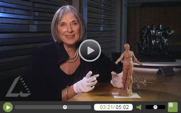"Click to open video in new window. Former director of the Australian National Gallery, Betty Churcher: ""From clay maquette to bronze"". She's so enthusiastic it's wonderful."