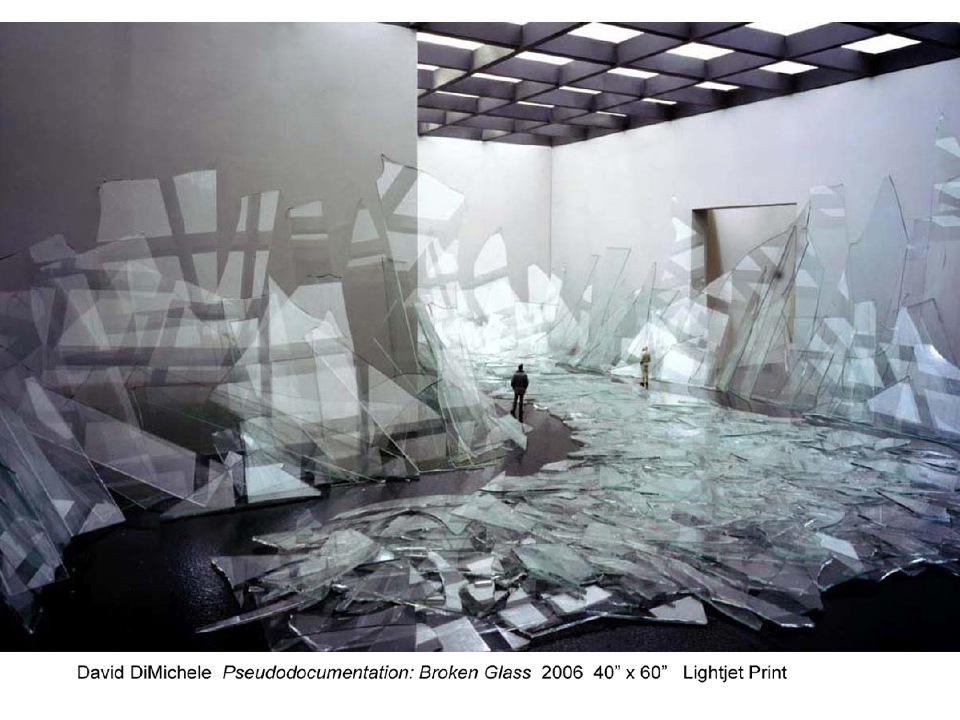 DavidDiMichele. Pseudodocumentation, Broken Glass. 2006.jpg