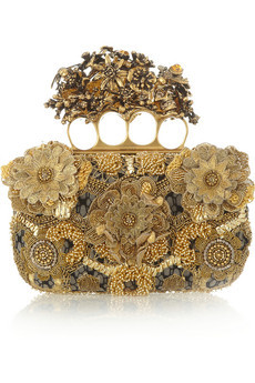 Alexander McQueen. Knuckle embroidered satin & tulle box clutch. 1.1.jpg