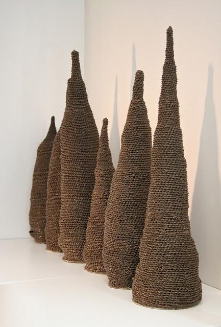 Micaela Vivero. Mounts. Via Contemprary Basketry