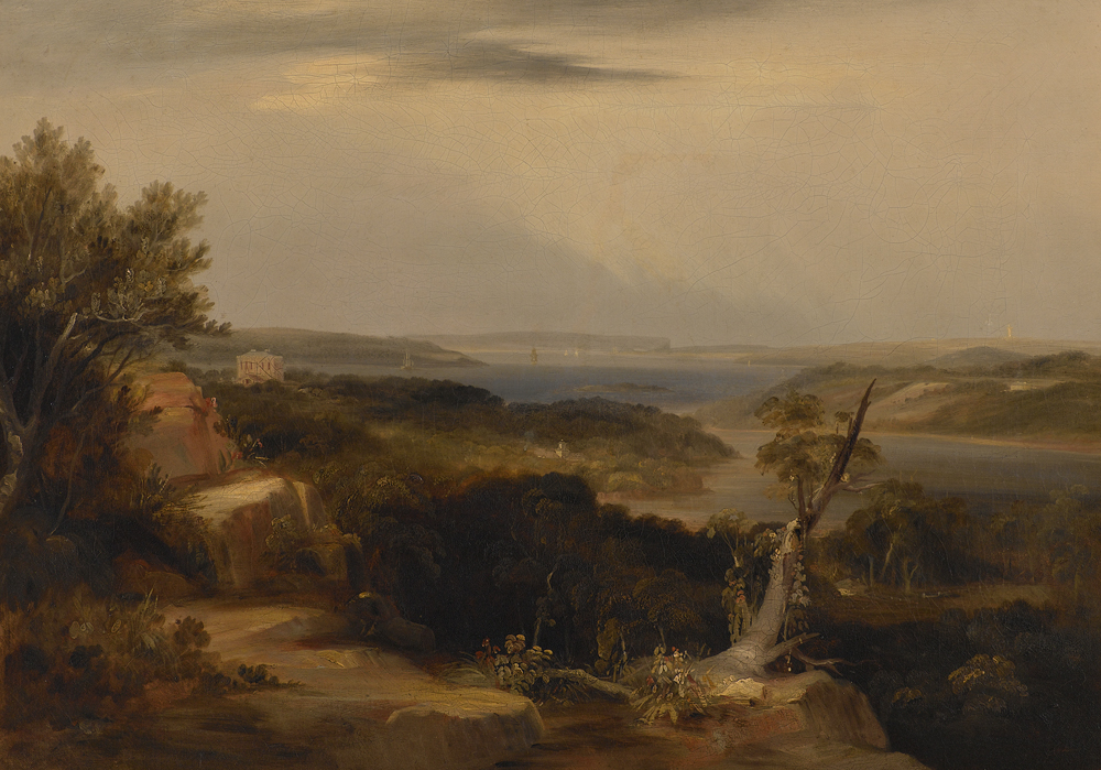 Conrad Martens - View from Craigend 1840