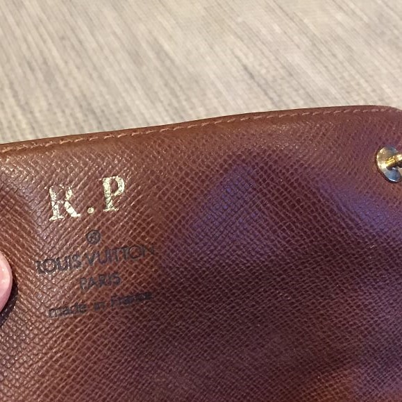 I bought this on Bond Street, London & they were so nice, they emblazoned it with one's initials
