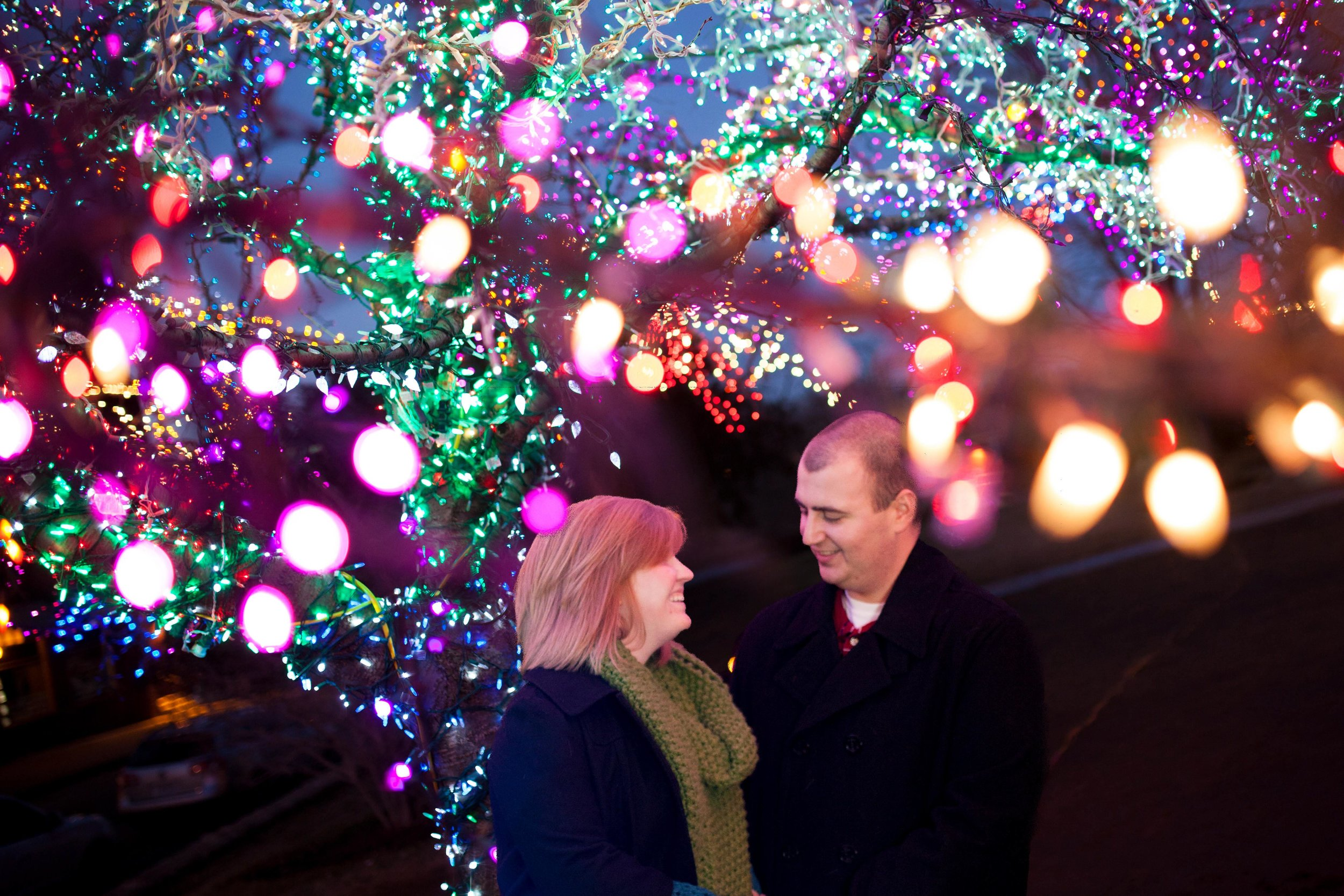 Columbia MO Engagement Photographer Magic Tree