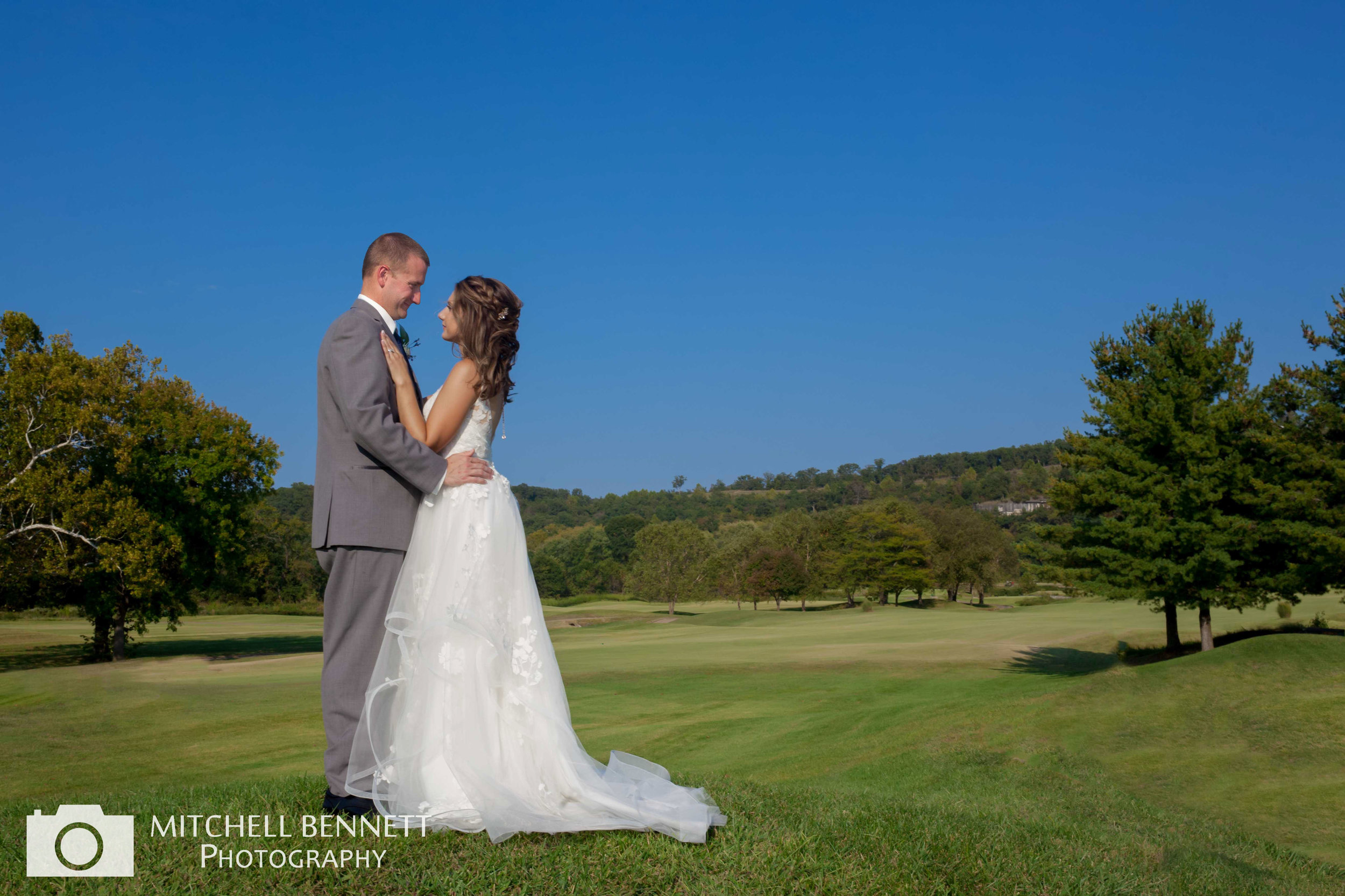 Osage National Wedding Photo