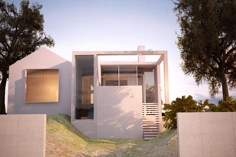 concrete house 2
