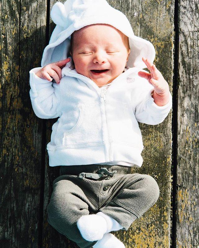 Happy.  #beautiful #light #sunlight #fujifilm #fujifilmxpro1 #xpro1 #xf35 #xf35f2 #xf35mm #fuji #vasonapark #vasonaparklights #chasinglight #bokeh #infant #baby #babyJ #newborn #babiesofinstagram #newbornphotography #babyphotography #vasona #vasonapark