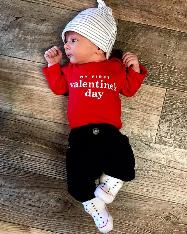 Valentine.  #babyJ #jackson #baby #newborn #infant #shotoniPhone #iPhone6s #shotoniphone6s #iPhone #iPhoneography #startsomethingnew #babyphotography #babiesofinstagram #valentine #valentinesweekend #valentinesday #valentinebaby