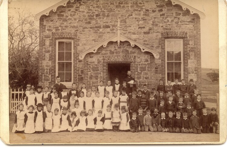 Wissanger School (now known as 'The Annexe') in 1875