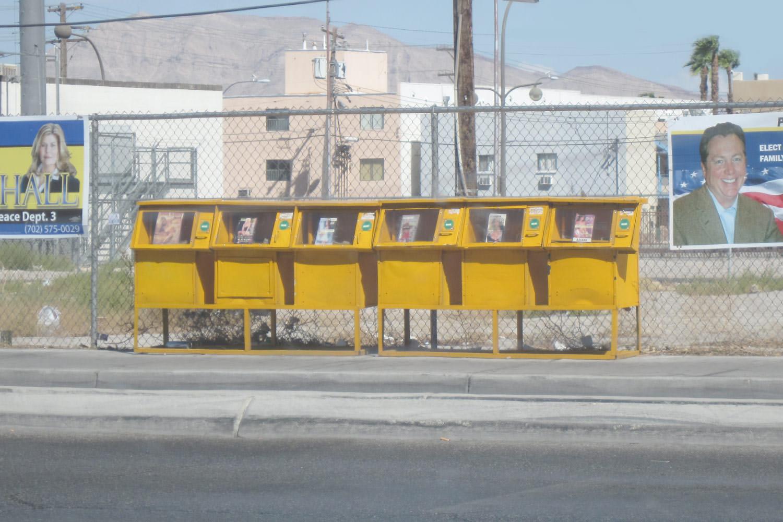 Handouts, Las Vegas