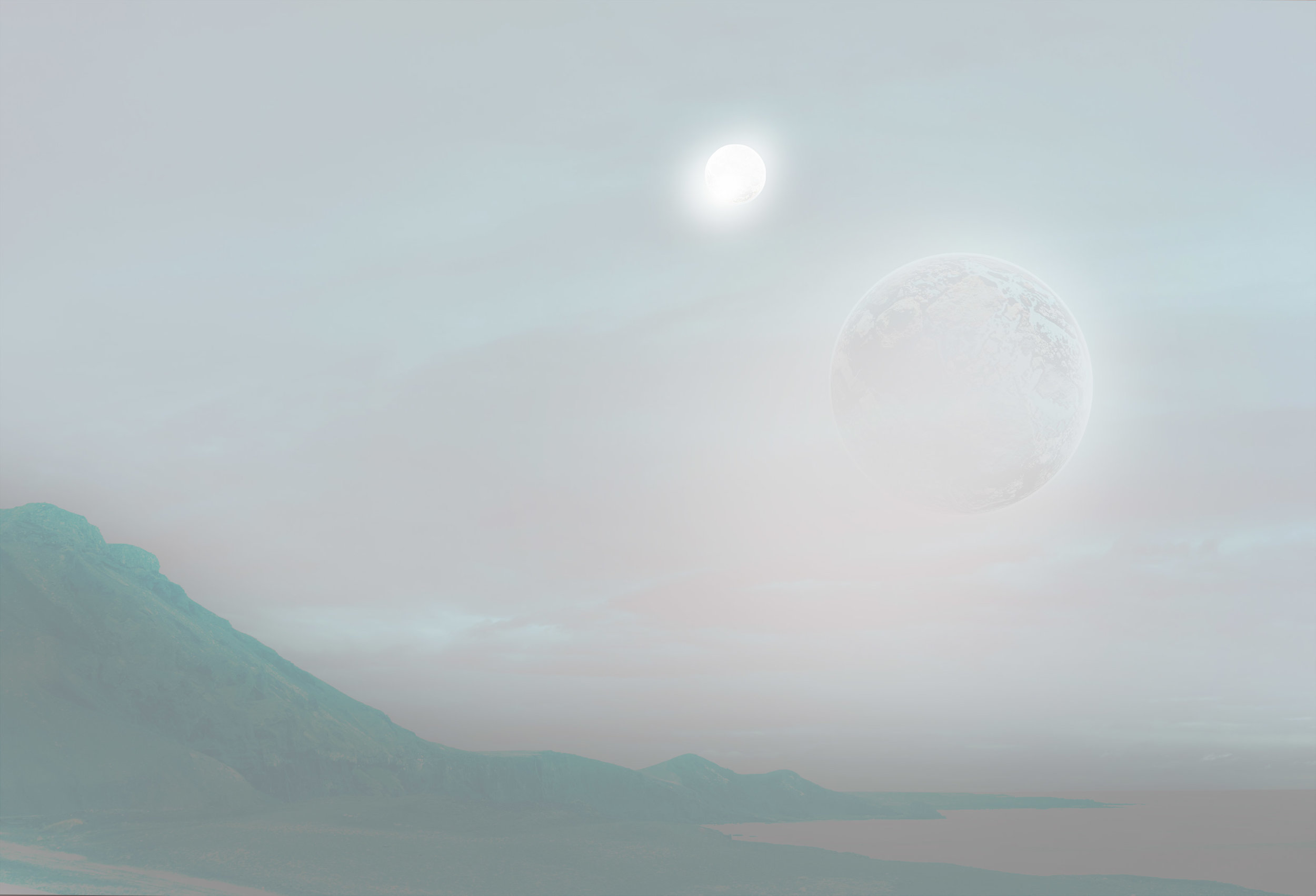 Imagine a fantastic new landscape on one of the Seven new Earth - sized exoplanets that have just been discovered!