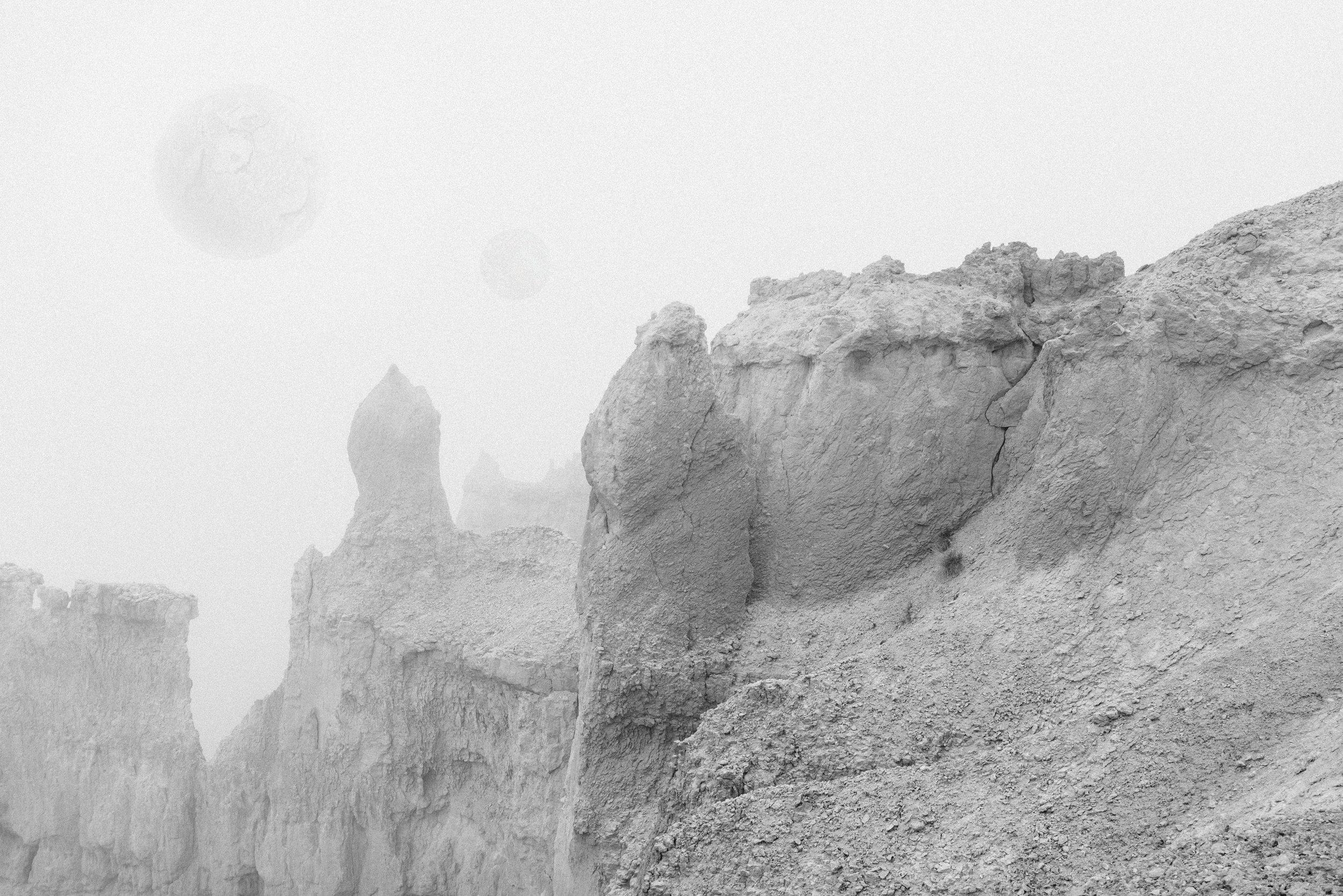 Trappist-1 Exoplanet Landscape Rendering 2