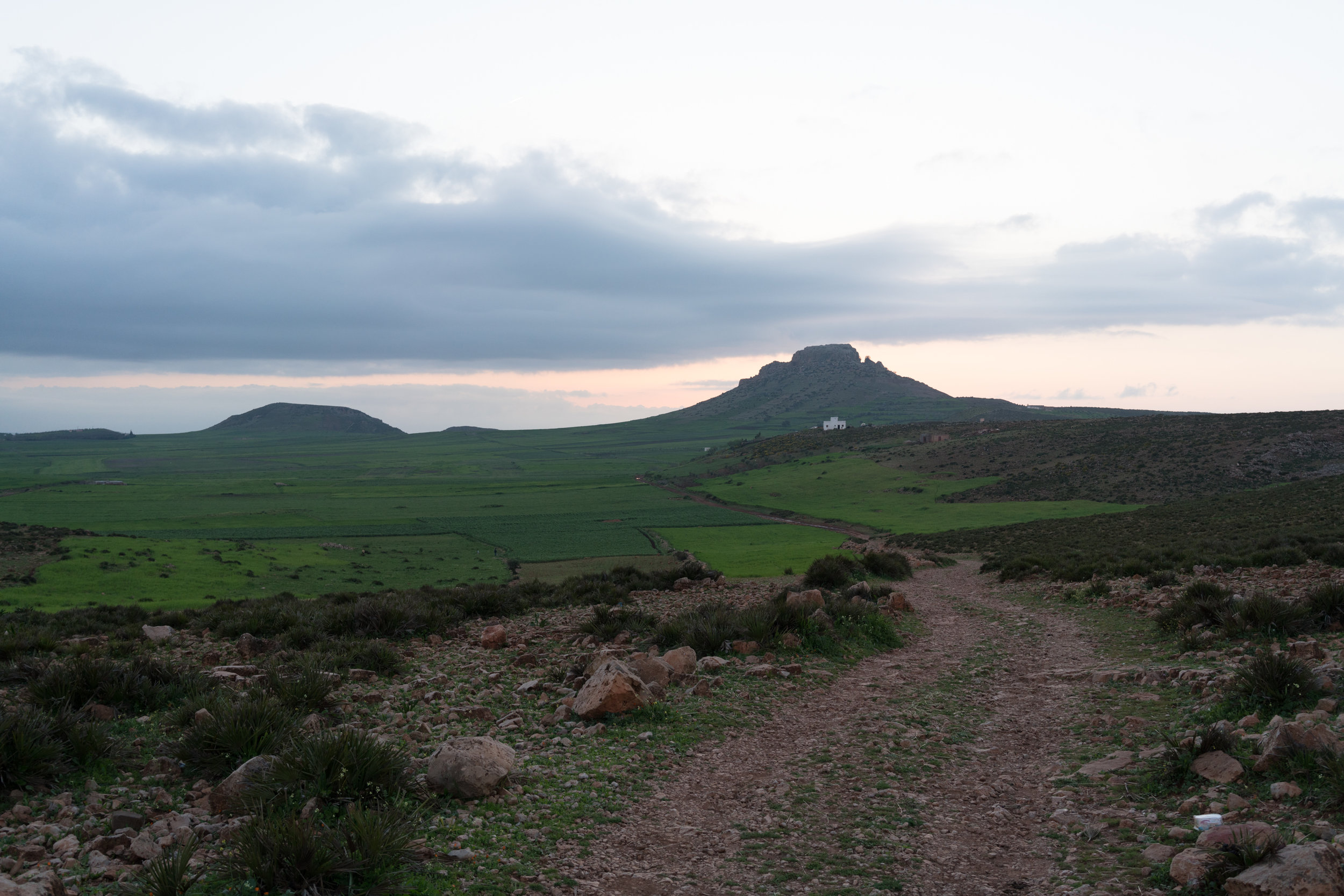 The plateau above Bhalil