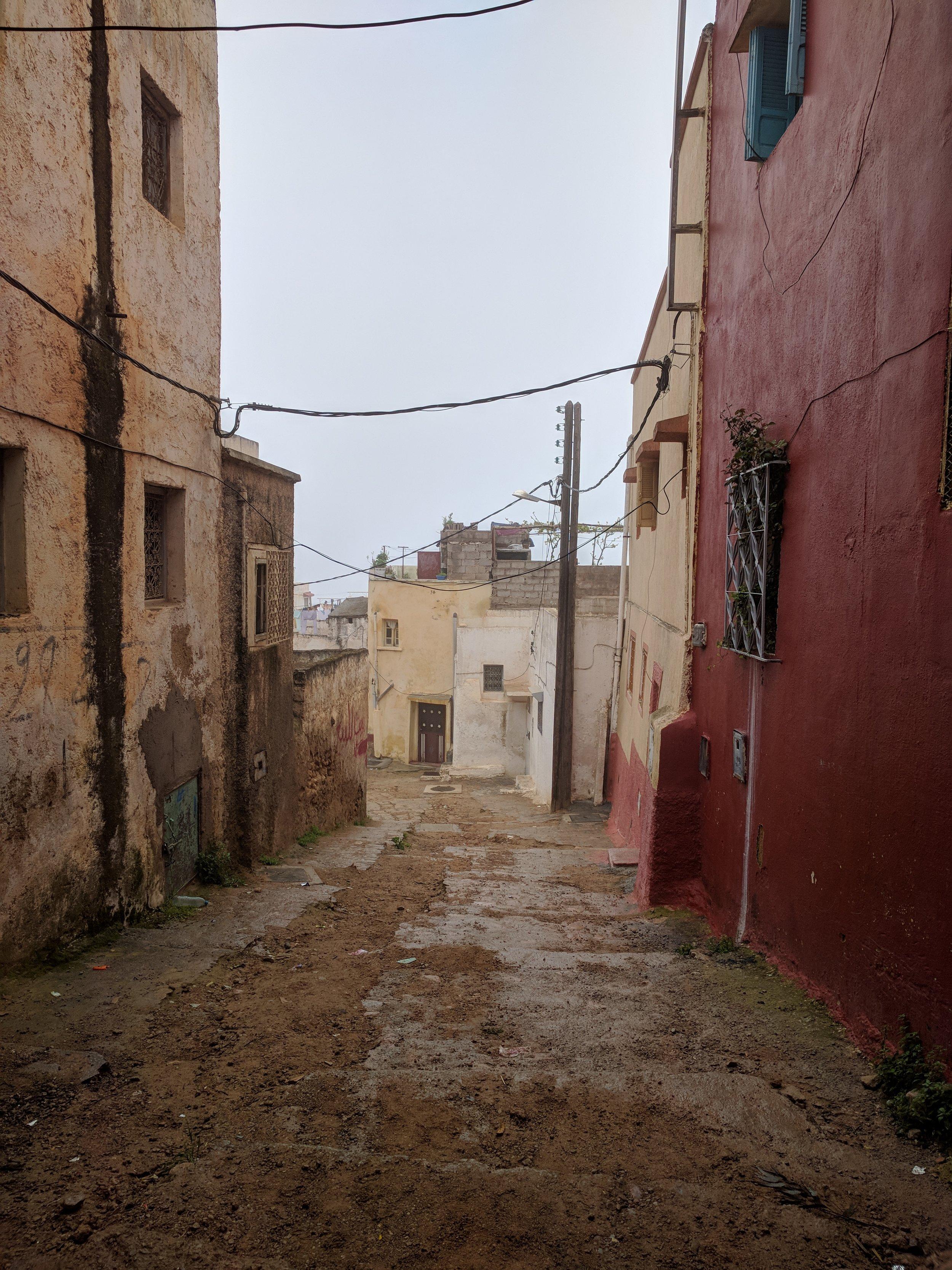 A street in Bhalil
