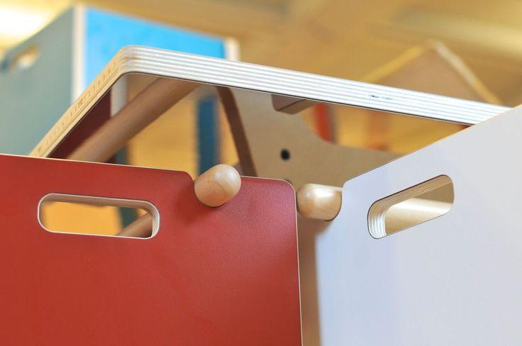 Speil under bordet skaper et flott overraskelse moment.