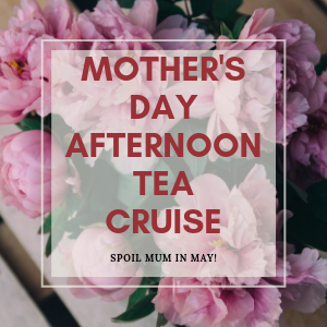 Treat your Mum to a leisurely, late afternoon cruise along the Nepean River into the nepean gorge. all  Mums receive a complimentary glass of Sparkling Wine!
