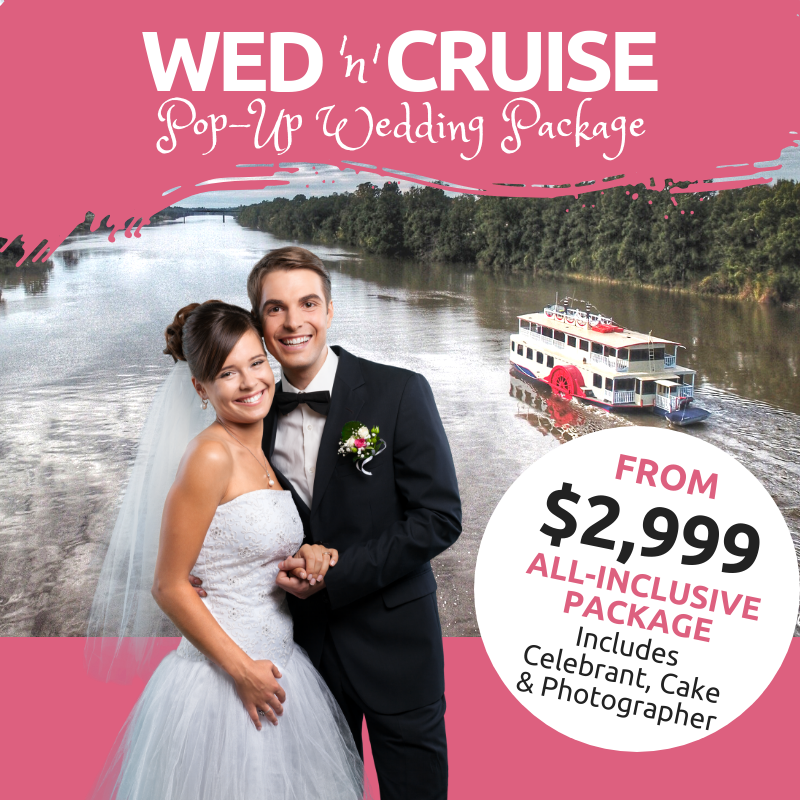 Pop up wedding budget wedding wedding on the water penrith wedding