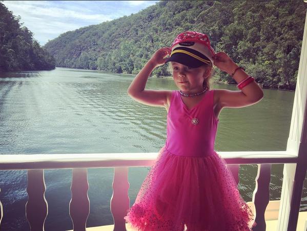 Belle Gorge Girl pink child kid.png