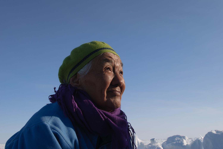 Portrait of an Inuit Elder