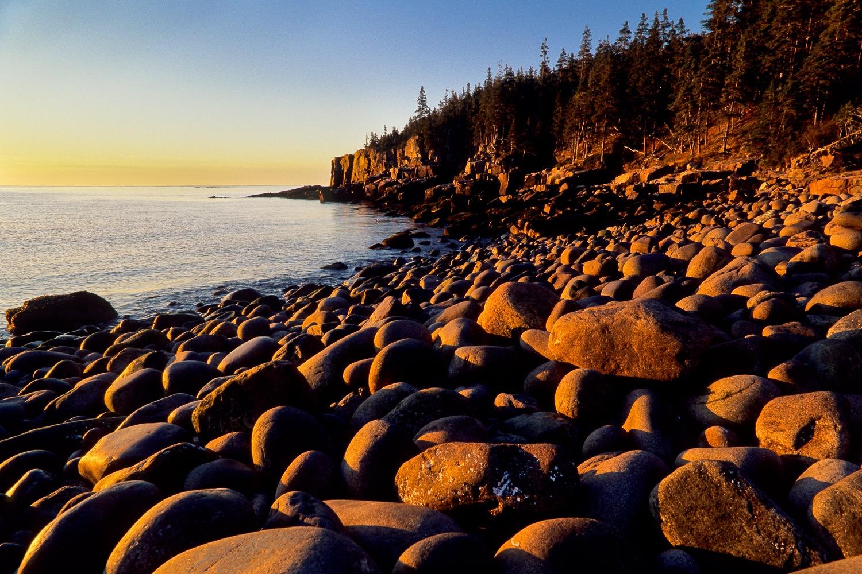 Otter Cliffs at Sunrise