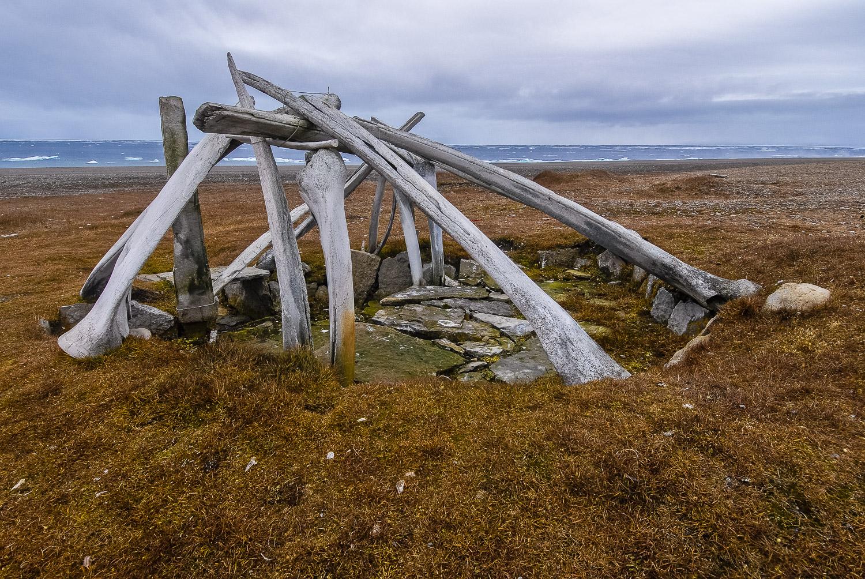 Ancient Thule Whalebone House