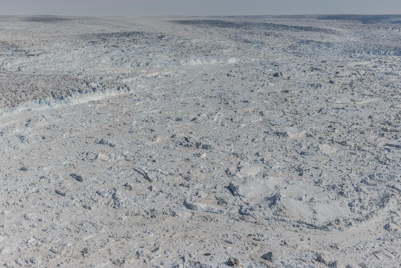 Ice Breaking From the Jakobshavn Glacier