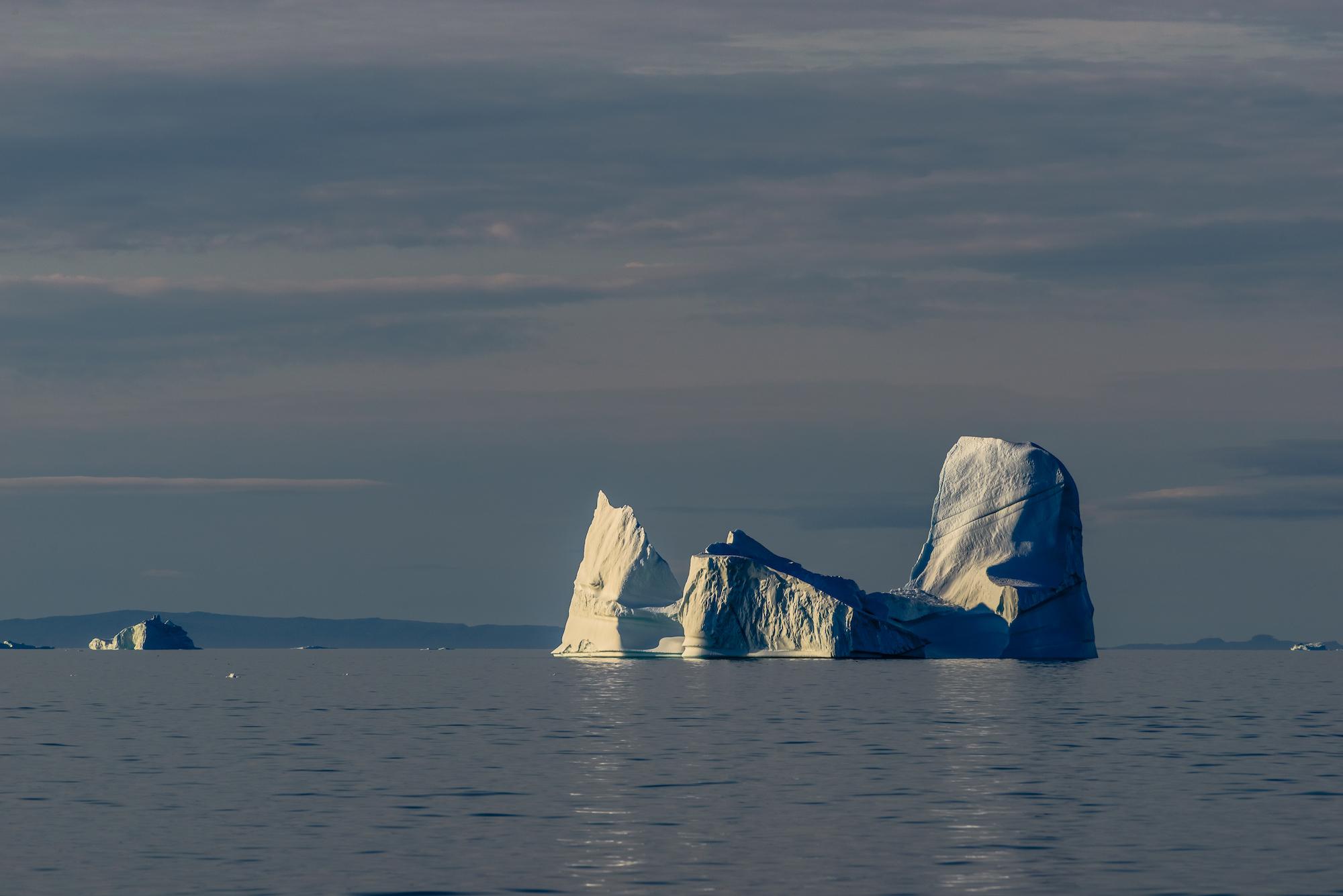 Iceberg in Calm Seas