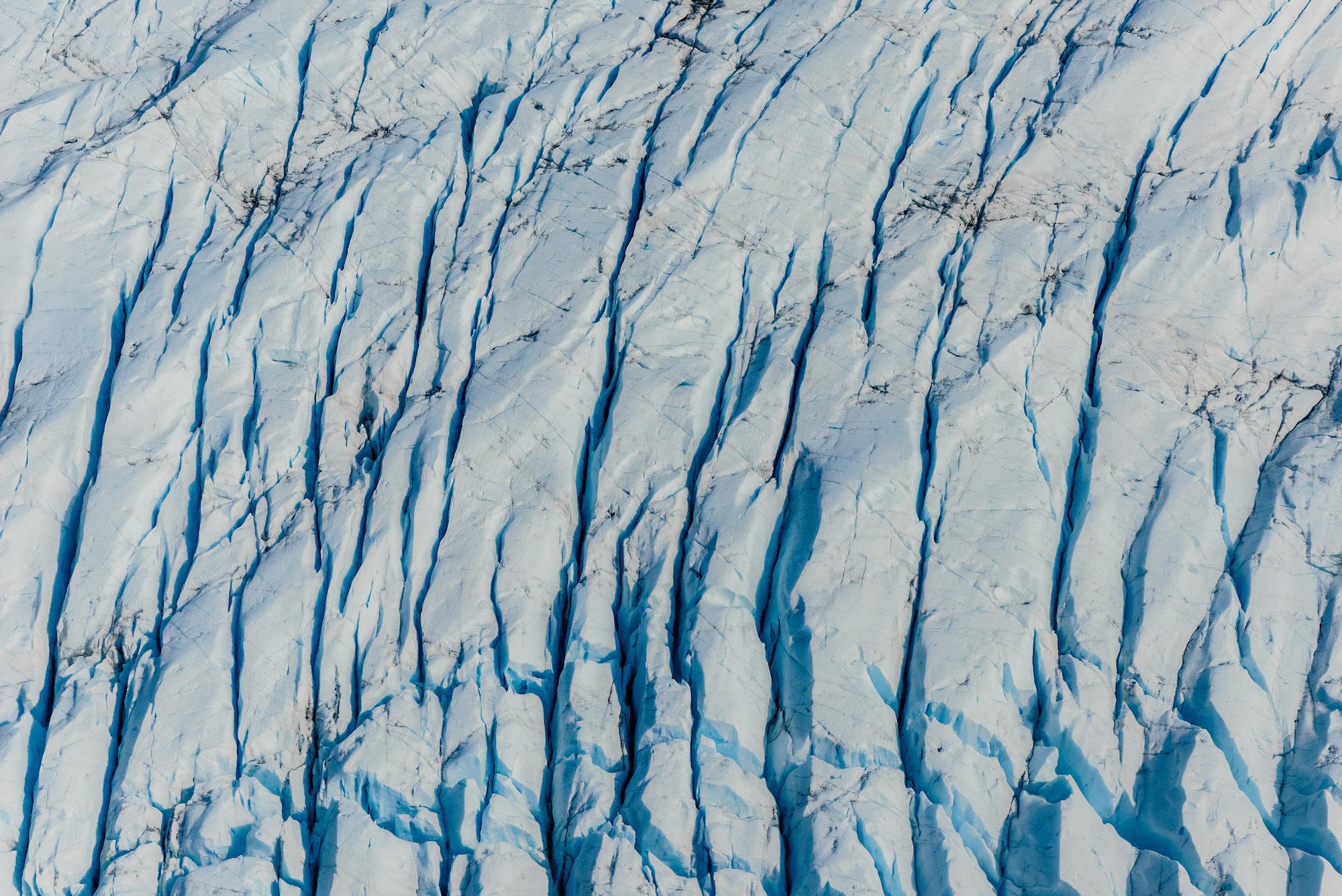 Deep Turquoise Crevasses