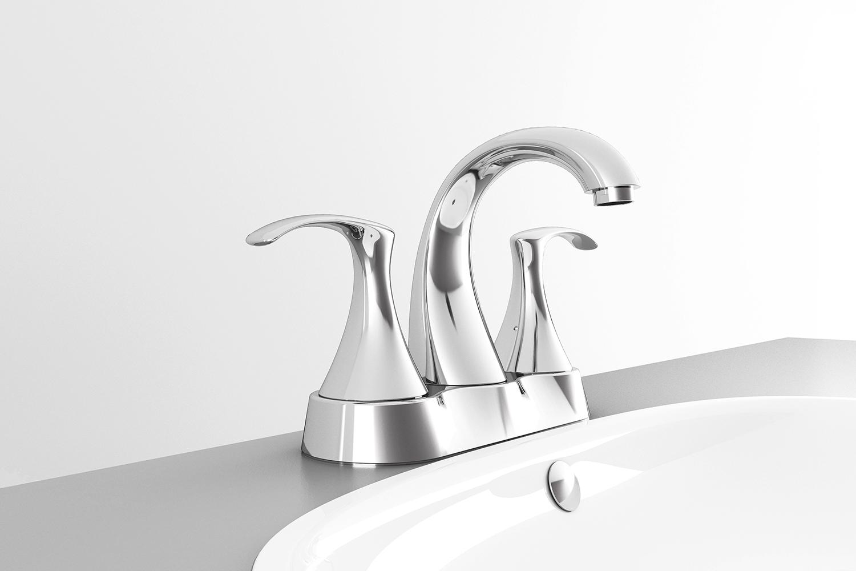 """Mezcladora de 4"""" para lavabo YAZ®"""