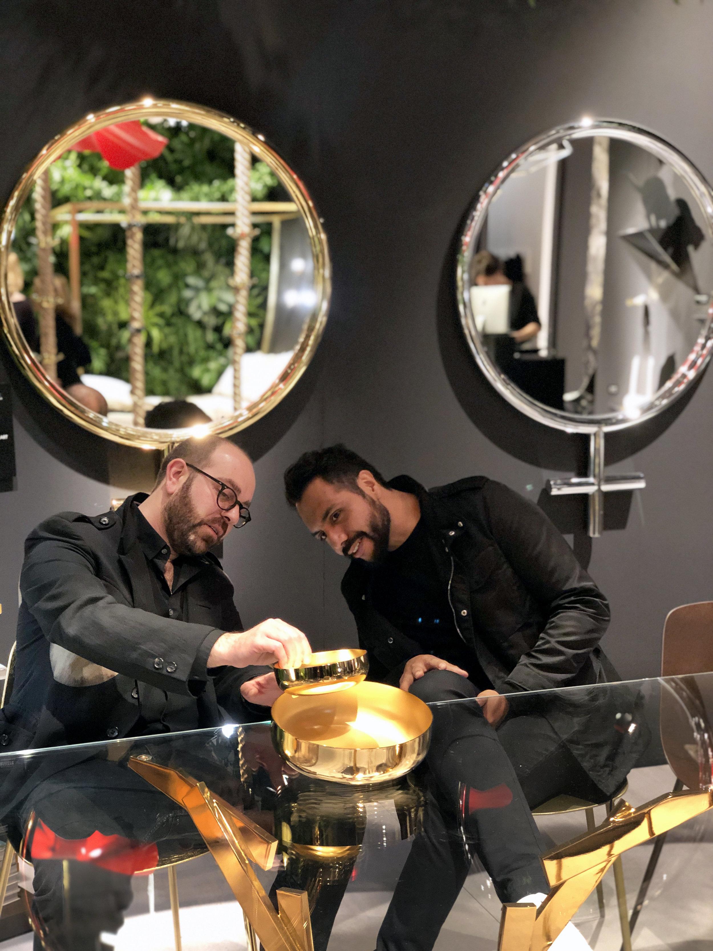Lapo Ciatti y Joel Escalona