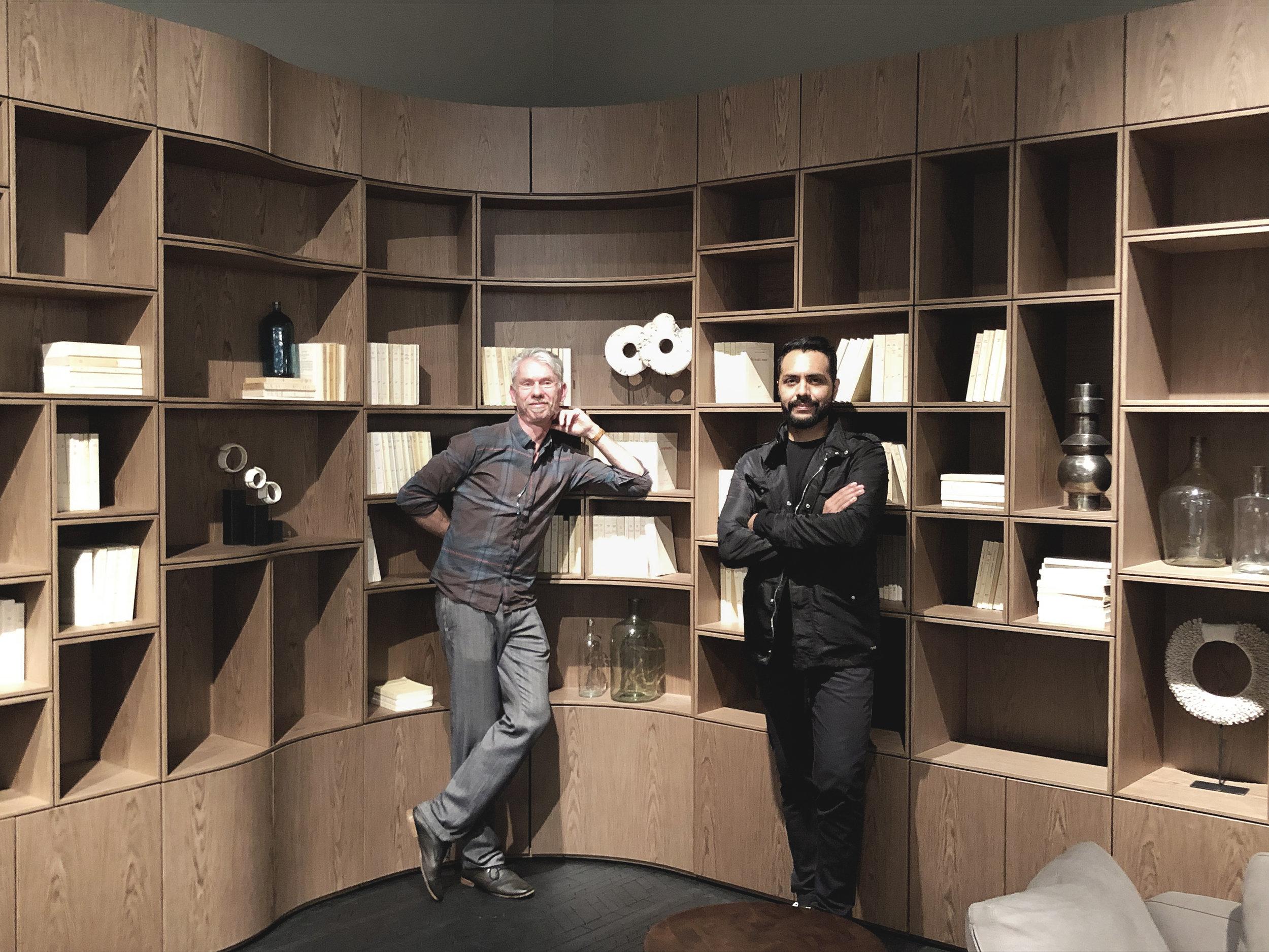 Nicolas Roche y Joel Escalona