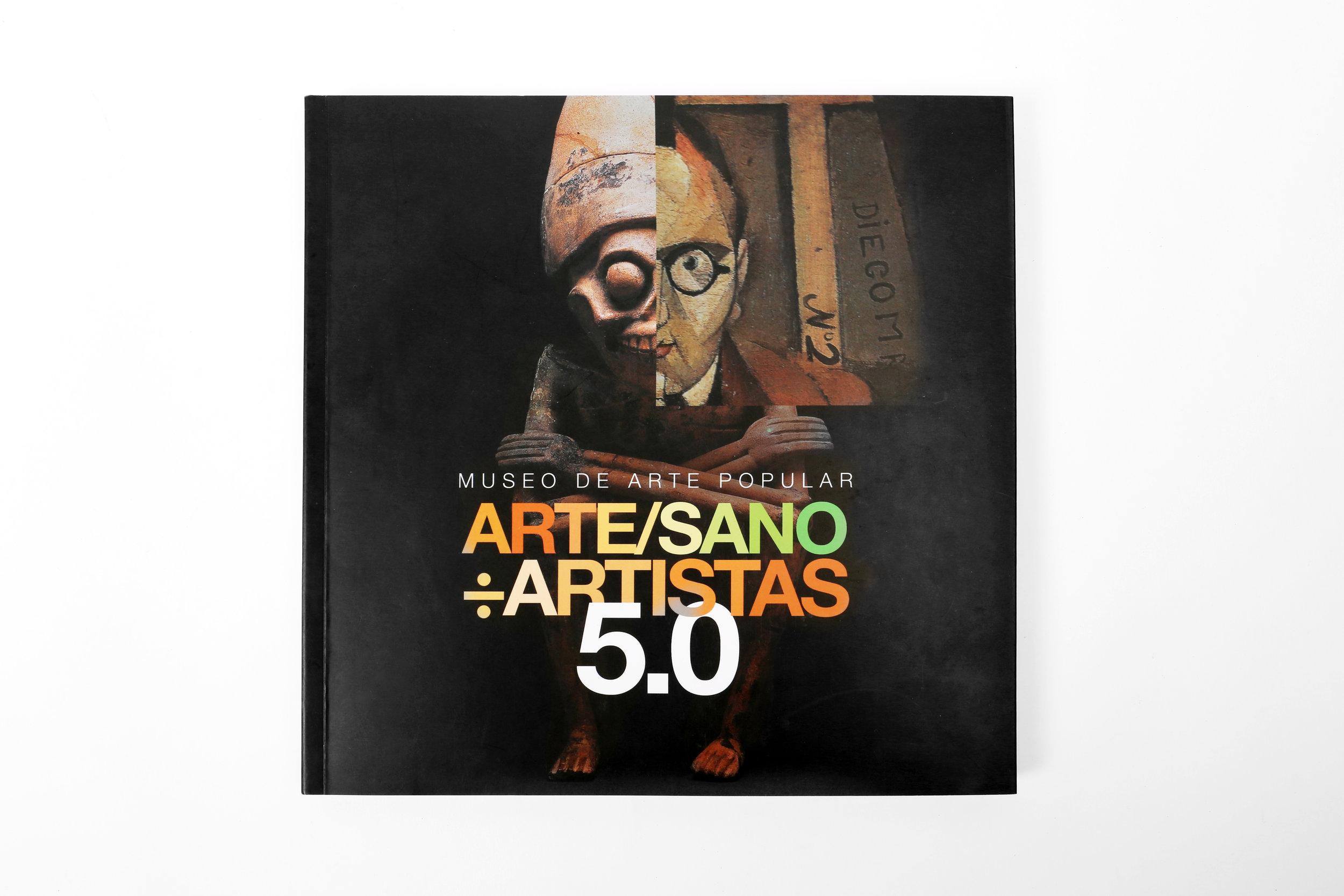 LIBRO  | Arte/Sano % Artistas 5.0 | Secretaría de Cultura | México | 2017