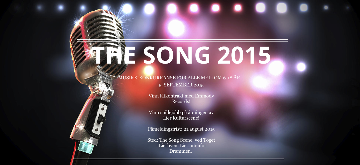 Meld deg på www.thesong.no! Ellen Xylander sitter i juryen på The Song 2015, sammen med blant andre artisten RAVI.