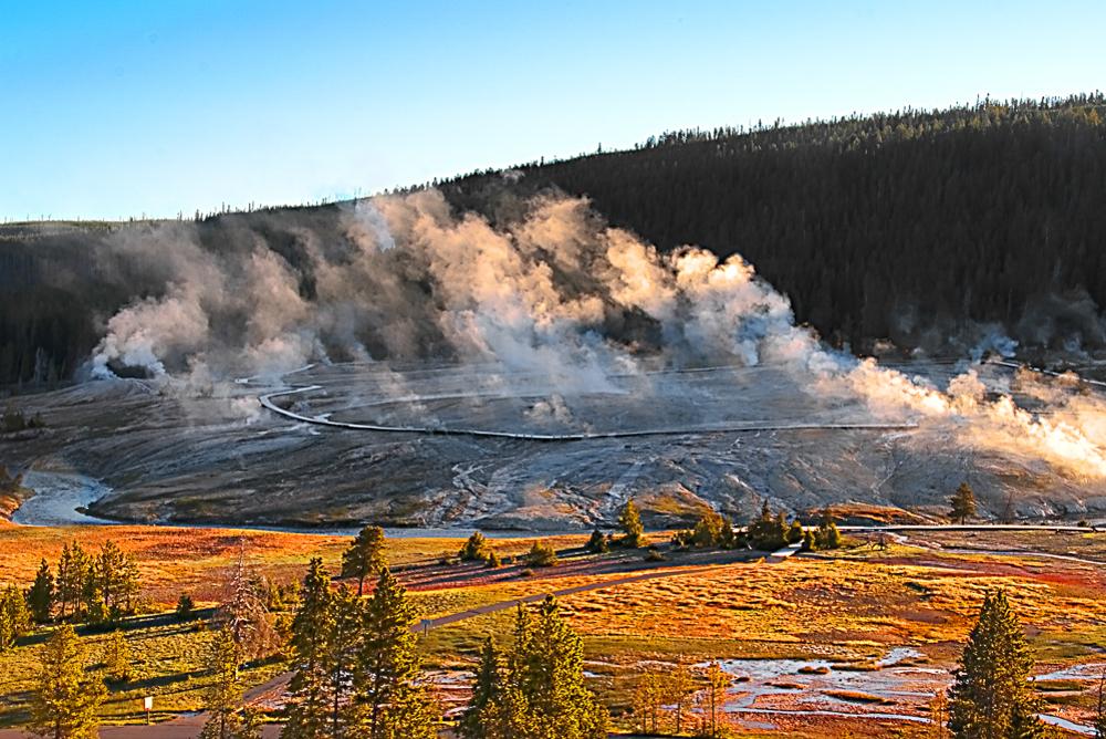 Geyser Basin - 5, Yellowstone