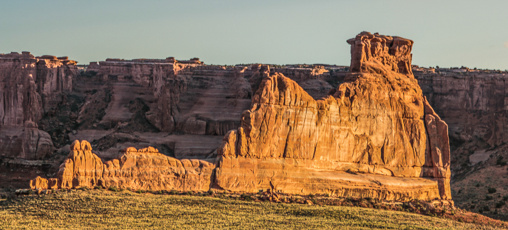 """""""The Courthouse"""", Arches Nat Park"""
