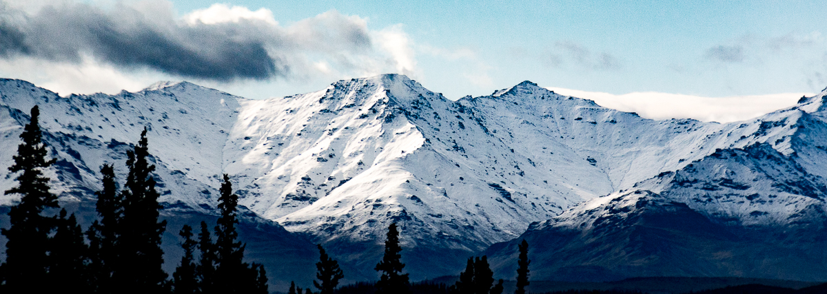 Denali view from the Alaska Railroad