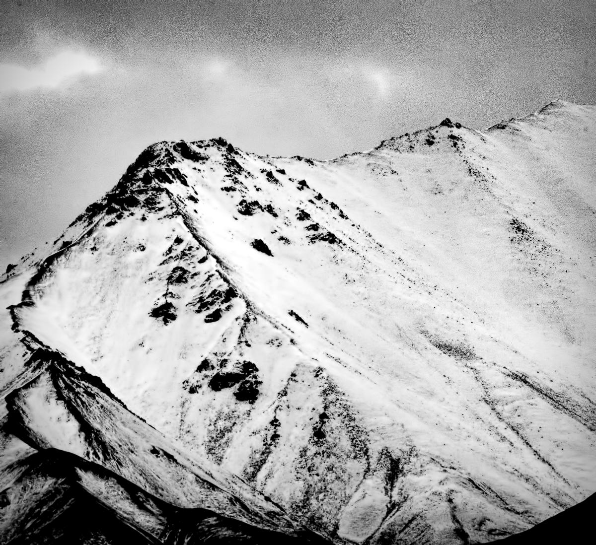 Closeup of a Denali ridge