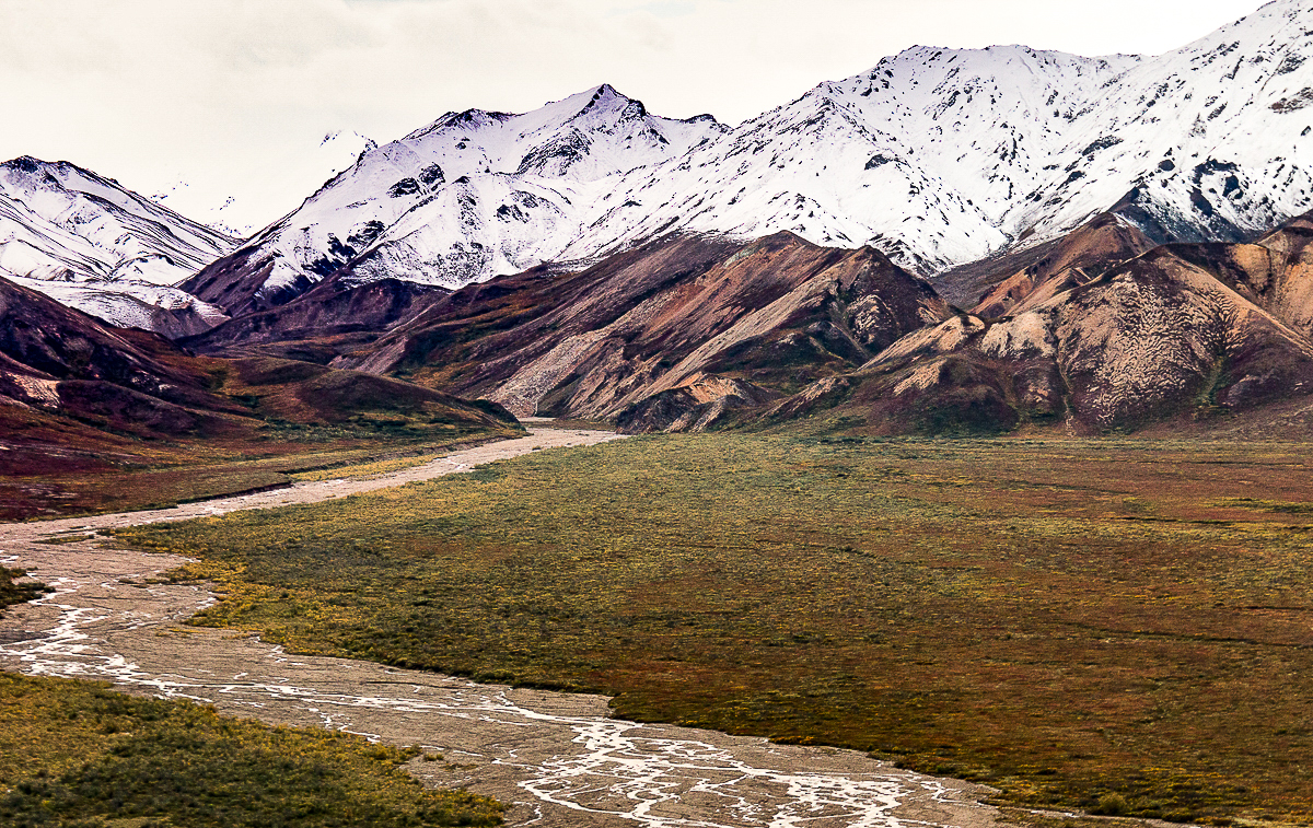 Braided River (the Tolkat)