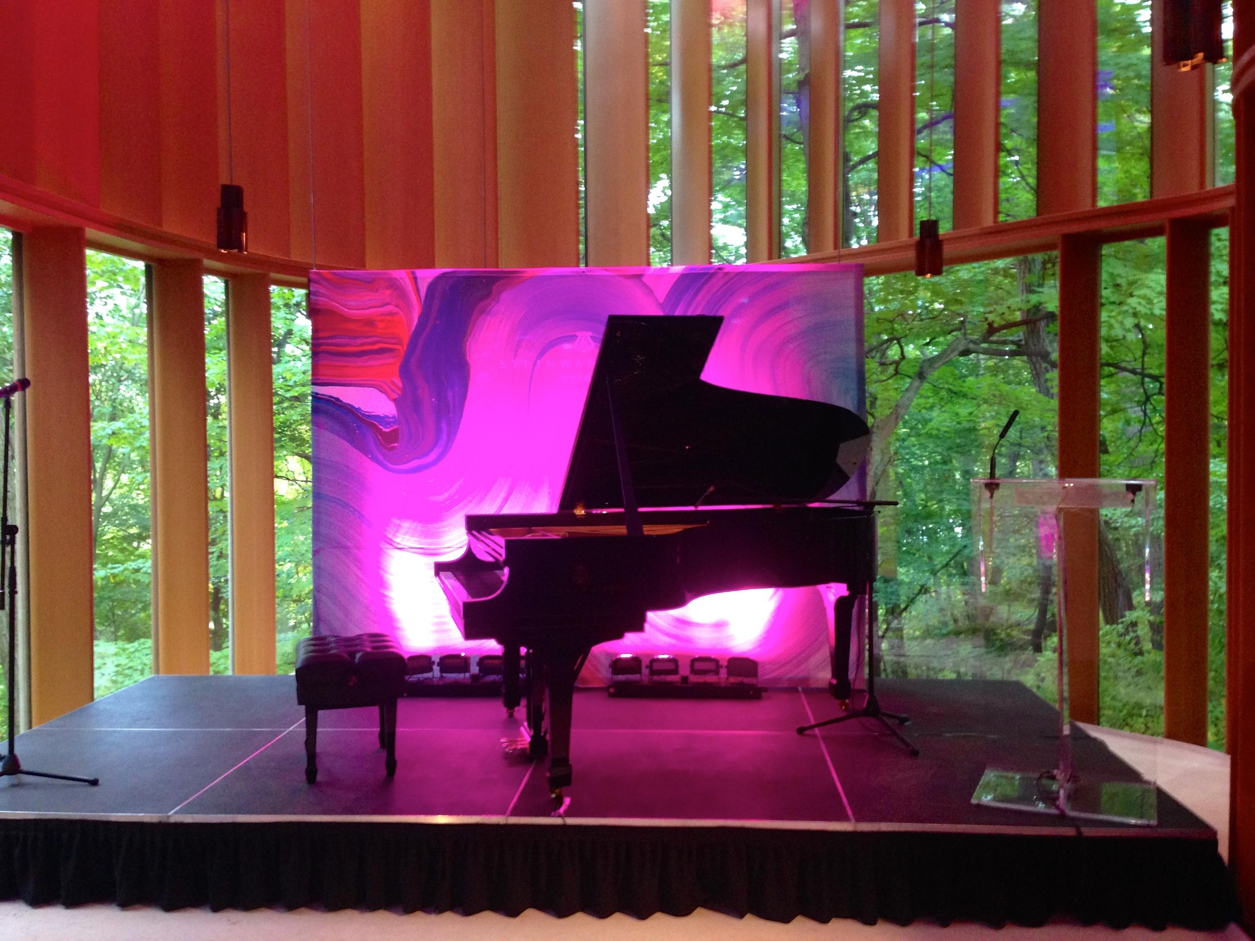 Steinway Spirio Piano launch, Integral House, Toronto, Ontario