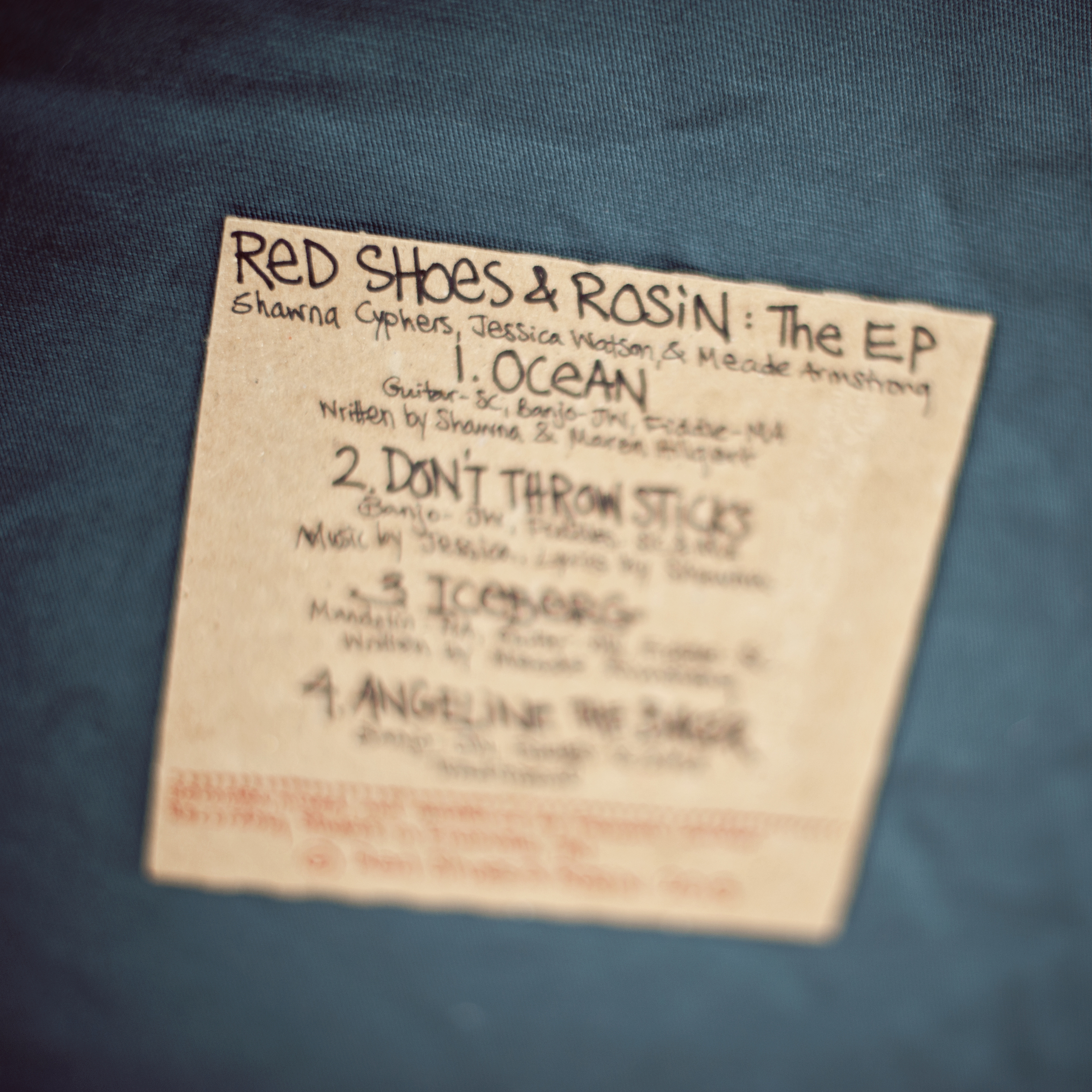 Red Shoes & Rosin: The EP