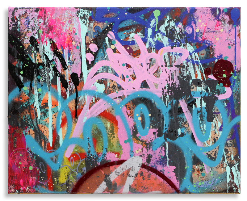 """Game  Mixed Media on Canvas 20"""" x 16"""" $1,500 Also Available on  1xRUN"""