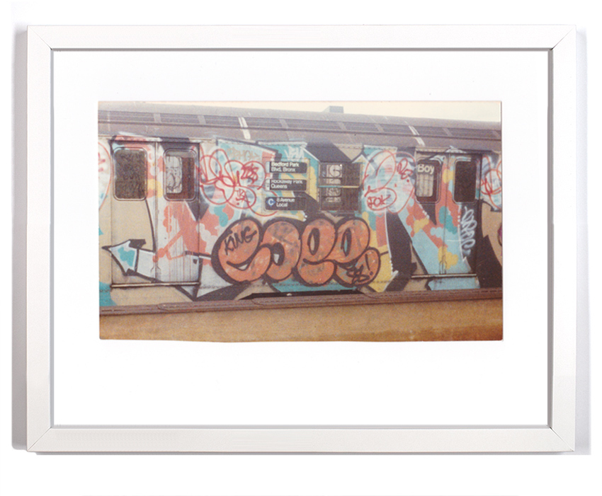 """Cope2 80's Subway Series 1  Signed Archival Pigment Print 1 Available 18"""" x 14"""" $175  SOLD"""
