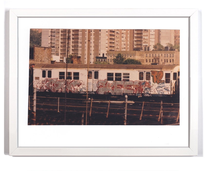 """Cope2 80's Subway Series 3  Signed Archival Pigment Print 1 Available 18"""" x 14"""" $175"""