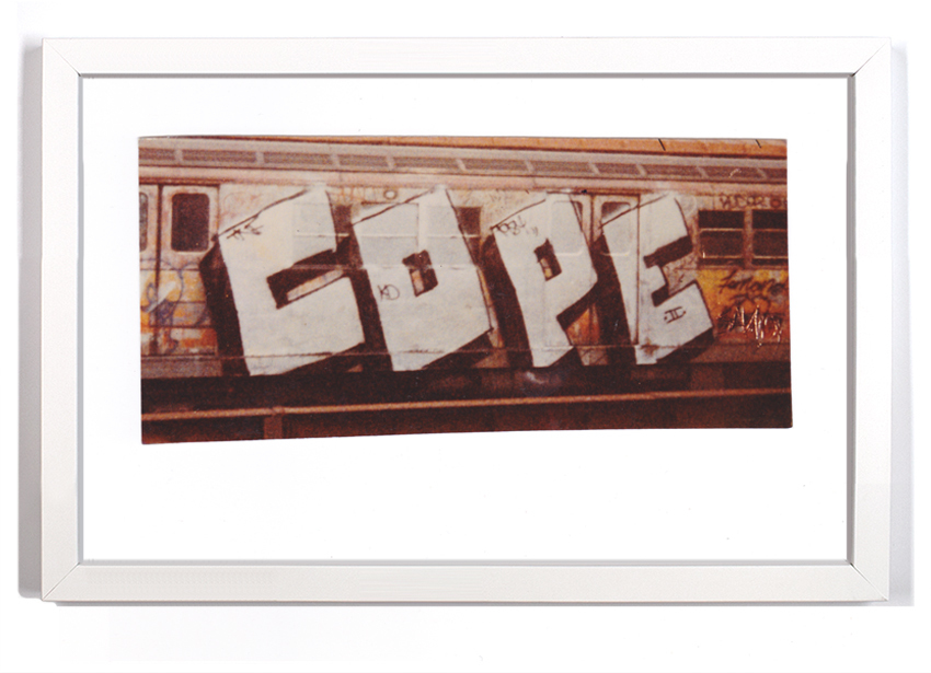 """Cope2 80's Subway Series 2  Signed Archival Pigment Print 1 Available 18"""" x 12"""" $175"""