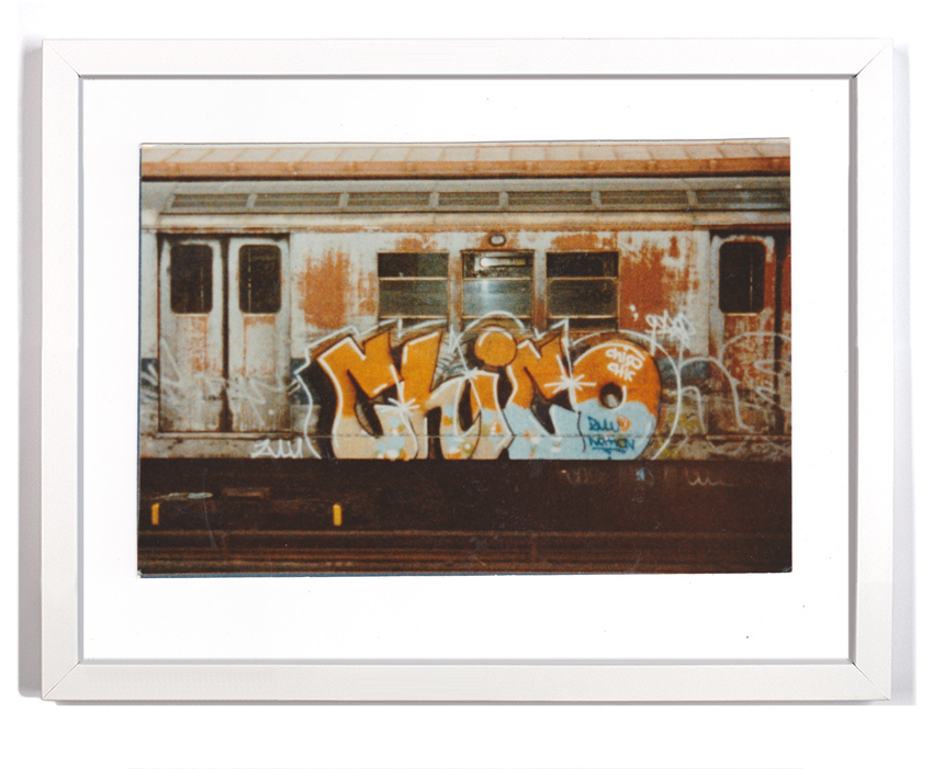 """Cope2 80's Subway Series 7  Signed Archival Pigment Print 1Available 18"""" x 14"""" $175"""