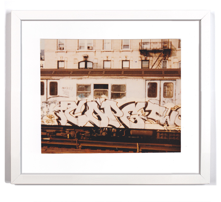 """Cope2 80's Subway Series 11  Signed Archival Pigment Print 1Available 16"""" x 14"""" $175"""