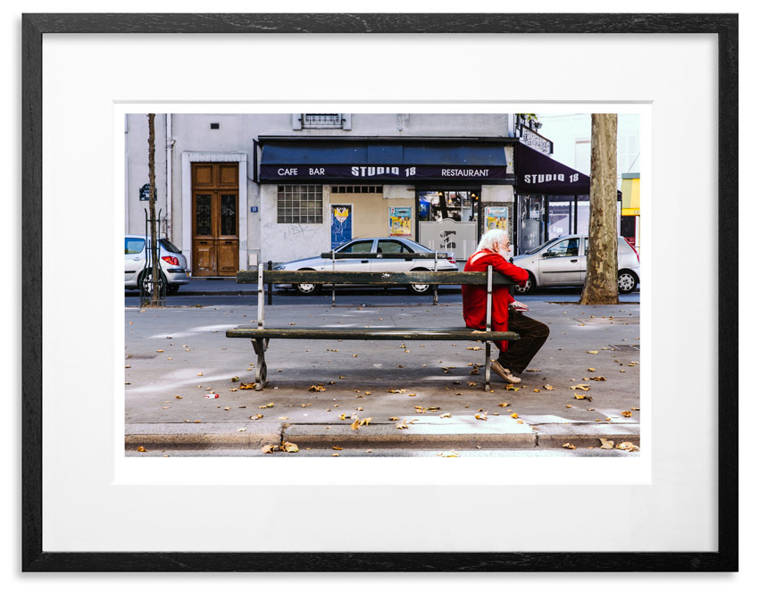 """Paris Life   Archival Pigment Print on 300gsm Museum Grade 100% Cotton Rag   24"""" x 18"""" - Edition 21 -   Purchase    66"""" x 44"""" - Edition 10 -   Purchase"""