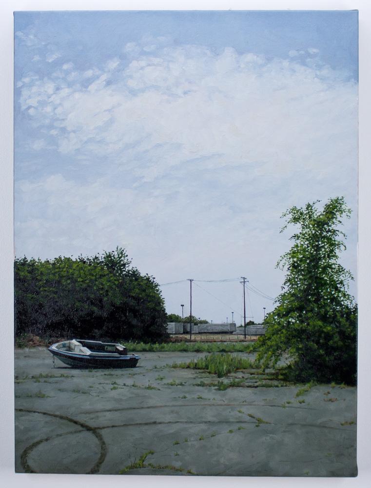 "Stephanie Buer     Donuts     24"" x 32""    Oil on Canvas     $2,200"