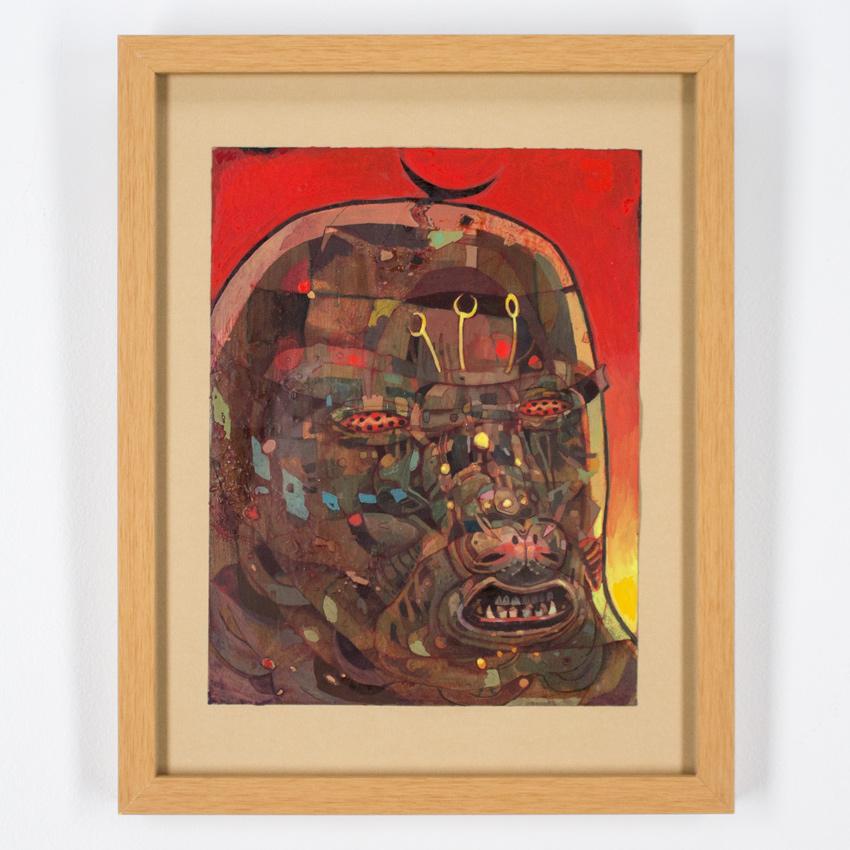 Jesús Benítez    Tardigrades   Mixed Media 45 x 30cm // 18 x 11inches   $900